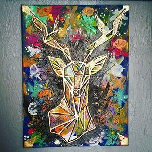 Orginal artwork by me (12x16 canvas)